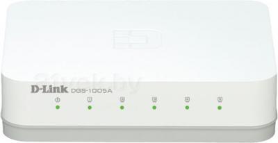 Коммутатор D-Link DGS-1005A/C1A - общий вид
