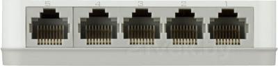 Коммутатор D-Link DGS-1005A/C1A - вид сзади