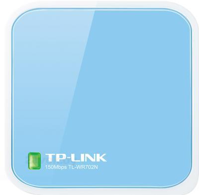 Беспроводная точка доступа TP-Link TL-WR702N - фронтальный вид