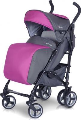 Детская прогулочная коляска Euro-Cart Ritmo (Ocean Blue) - чехол для ног (цвет magenta)