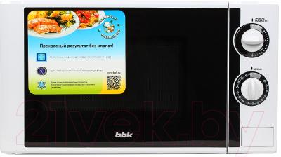Микроволновая печь BBK 20MWS-704M/W - вид спереди 2
