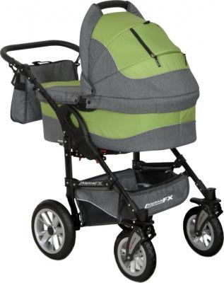 Детская универсальная коляска Riko Alpina FX 2 в 1 (Pistachio) - общий вид