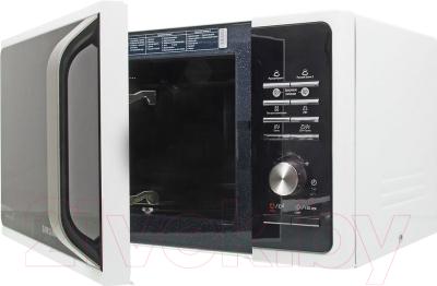 Микроволновая печь Samsung MG23F301TAW - с открытой крышкой