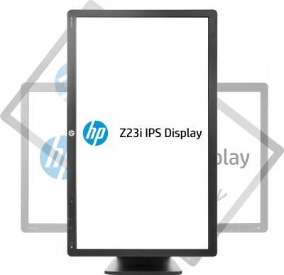 Монитор HP D7Q13A4 - фронтальный вид, поворот