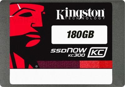 SSD диск Kingston SSDNow KC300 180GB (SKC300S37A/180G) - общий вид
