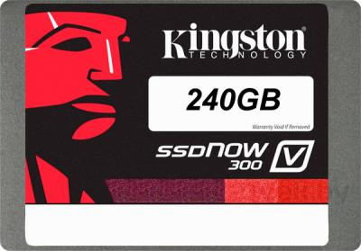 SSD диск Kingston SSDNow V300 240GB (SV300S3N7A/240G) - общий вид