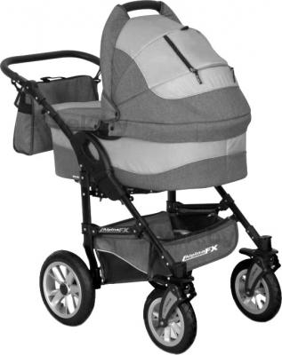 Детская универсальная коляска Riko Alpina FX 2 в 1 (Gray Fox) - общий вид