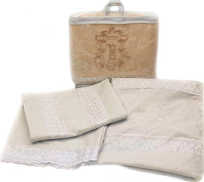 Комплект в кроватку Bombus Элит 3 (бежевый) - общий вид