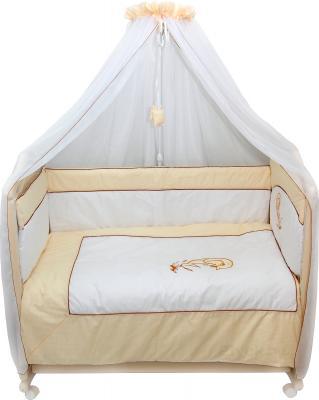 Комплект в кроватку Bombus Дельфинчик 7 (бежевый) - общий вид