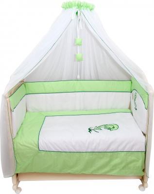 Комплект в кроватку Bombus Дельфинчик 7 (салатовый) - общий вид