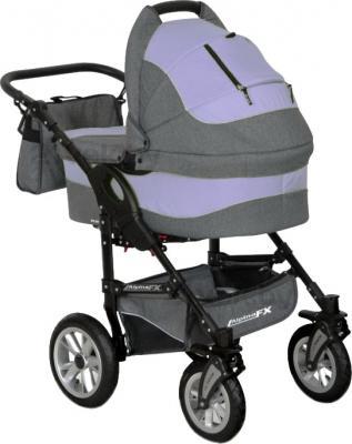 Детская универсальная коляска Riko Alpina FX 2 в 1 (Lila) - общий вид