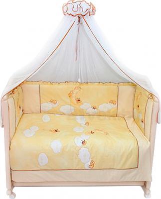 Комплект в кроватку Bombus Лунный мишка 7 (бежевый) - общий вид