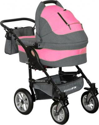 Детская универсальная коляска Riko Alpina FX 2 в 1 (Magenta) - общий вид