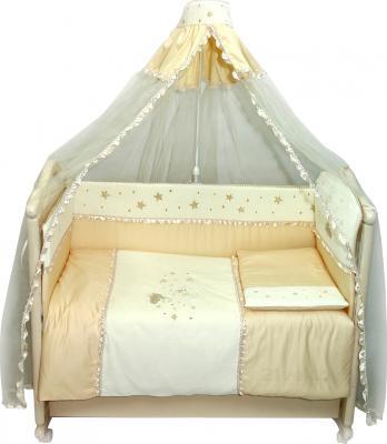 Комплект в кроватку Bombus Малышок 7 (бежевый) - общий вид