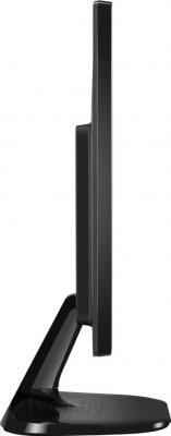 Монитор LG 22M45D-B (Black) - вид сбоку