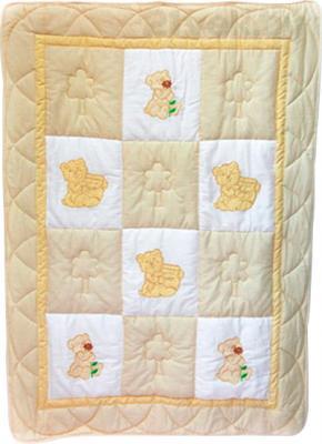 Одеяло для новорожденного Bombus Баю Бай (бежевое) - общий вид