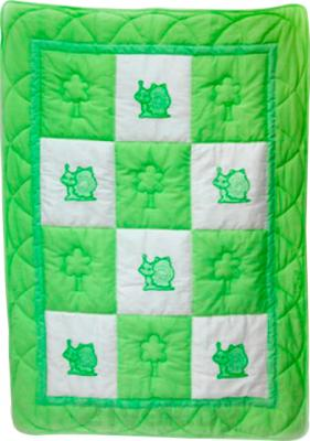 Одеяло для новорожденного Bombus Баю Бай (салатовое) - общий вид