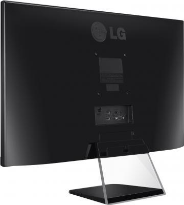 Монитор LG 23MP75HM-P (Black) - вид сзади
