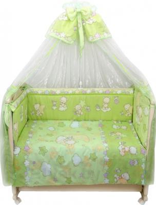 Комплект в кроватку Bombus Павлуша 8 (салатовый) - общий вид