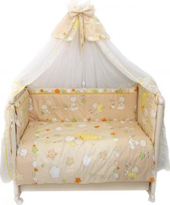 Комплект в кроватку Bombus Павлуша 8 (бежевый) - общий вид