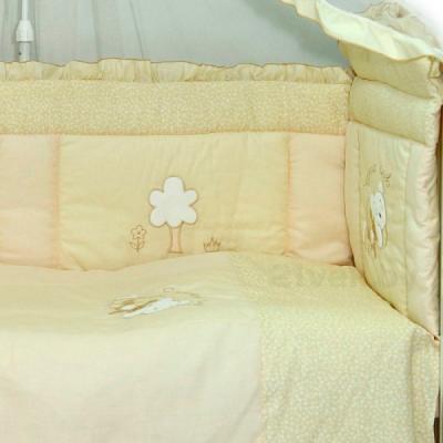 Комплект в кроватку Bombus Светик 7 (бежевый) - общий вид