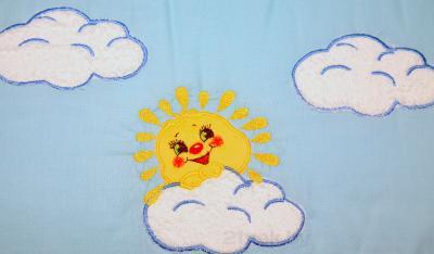 Комплект в кроватку Bombus Солнечный денек 7 - рисунок