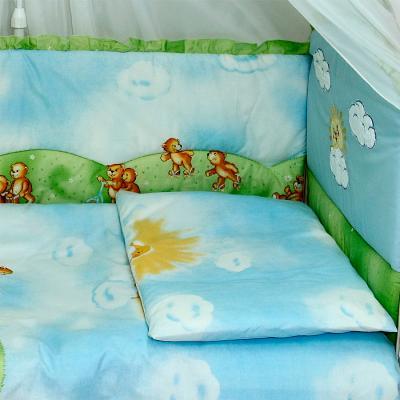 Комплект в кроватку Bombus Солнечный денек 7 - общий вид