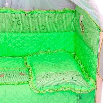 Комплект в кроватку Bombus Соня 6 (салатовый) - общий вид