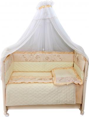Комплект в кроватку Bombus Соня 6 (бежевый) - общий вид