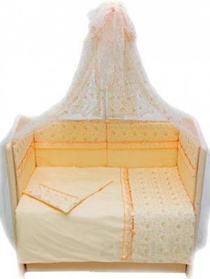 Комплект в кроватку Bombus Стефания 7 (бежевый) - общий вид