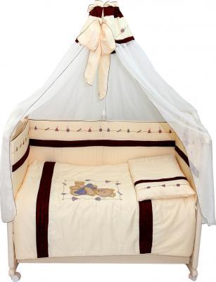 Комплект в кроватку Bombus Топтыжкина радость 7 (бежевый) - общий вид