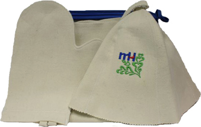 Набор текстиля для бани Королевна 5113-5010 - общий вид