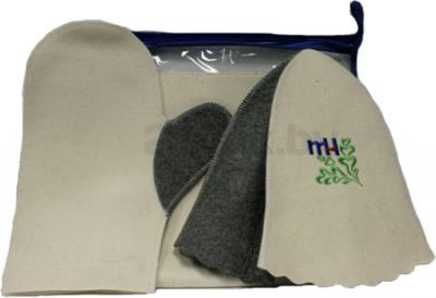 Набор текстиля для бани Королевна 5113-5013 - общий вид
