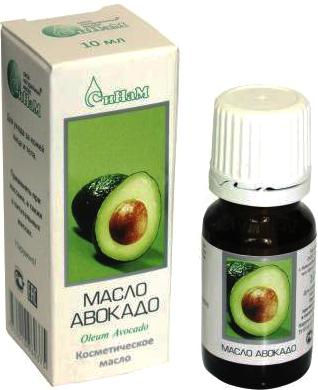 Косметическое масло Синам Авокадо М02 (10мл) - общий вид