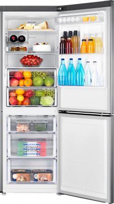 Холодильник с морозильником Samsung RB29FERMDSS/RS - изнутри