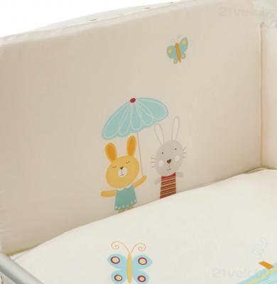 Комплект в кроватку Perina ГЛОРИЯ Г3-01.0 (Happy days) - рисунок