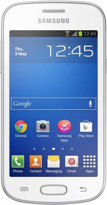 Смартфон Samsung Galaxy Trend Lite / S7390 (белый) - общий вид