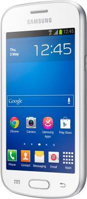 Смартфон Samsung Galaxy Trend Lite / S7390 (белый) - полубоком