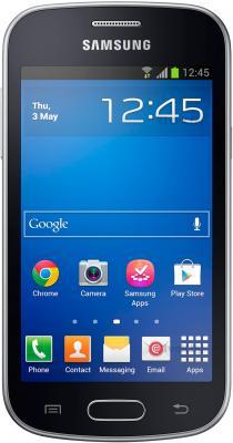Смартфон Samsung Galaxy Trend Lite / S7390 (черный) - общий вид