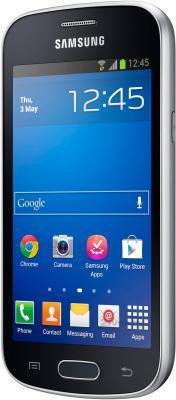 Смартфон Samsung Galaxy Trend Lite / S7390 (черный) - полубоком