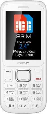 Мобильный телефон Explay A240 (White) - общий вид