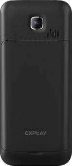 Мобильный телефон Explay Power Bank (Black) - задняя панель