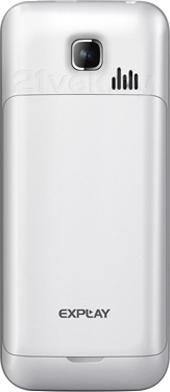 Мобильный телефон Explay Power Bank (White) - задняя панель