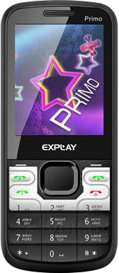 Мобильный телефон Explay Primo 2.4 (Black) - общий вид