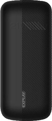 Мобильный телефон Explay Primo 2.4 (Black) - задняя панель
