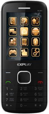 Мобильный телефон Explay SL241 (Black) - общий вид