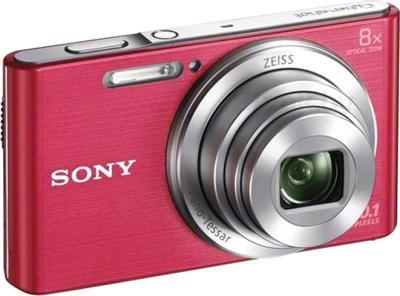 Компактный фотоаппарат Sony Cyber-shot DSC-W830 (розовый) - общий вид