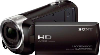 Видеокамера Sony HDR-CX240E (Black) - общий вид