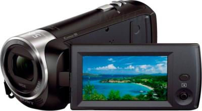 Видеокамера Sony HDR-CX240E (Black) - дисплей