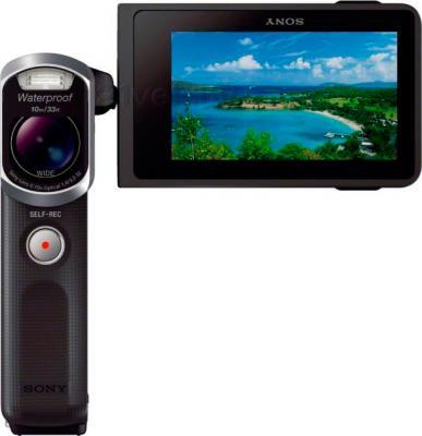 Видеокамера Sony HDR-GW66E (Black) - фронтальный вид